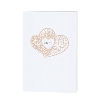 Menükarte / Hochzeitskarte Fiona
