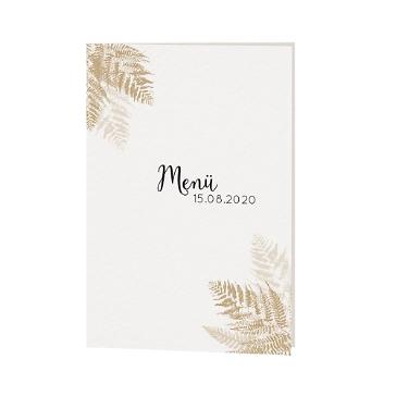 Menükarte / Hochzeitskarte Amelie