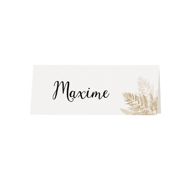 Tischkarte Hochzeit Amelie