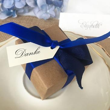 Gastgeschenk Dorea, königsblau