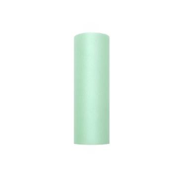Tischläufer Tüll Mint, 15 cm x 9 m