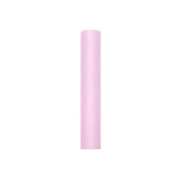 Tischläufer Tüll, rosa, 30 cm x 9 m