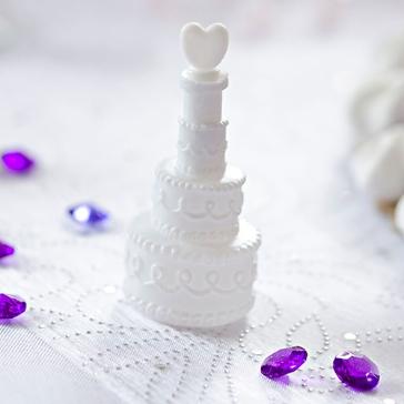 Wedding Bubbles Hochzeitstorte, dekoriert