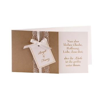Einladungskarte Goldene Hochzeit Birgit