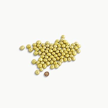 Crispydragees Mini Metallic, gold, 700 g