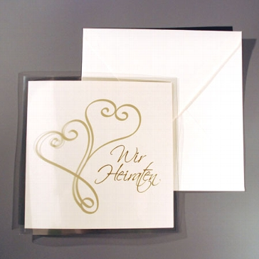 "Einladungskarte ""Anastacia"""