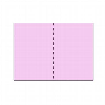 25 Doppelkarten lavendel
