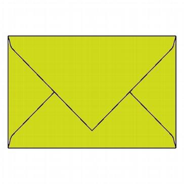 25 Kuverts B6, lindgrün