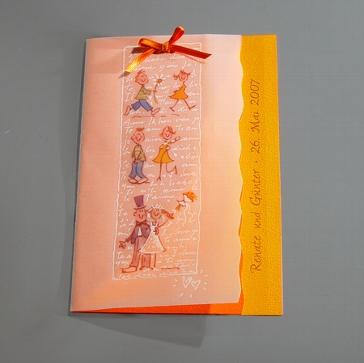 Einladungskarte Oxana