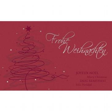 """Weihnachtskarte """"Fest der Liebe"""""""