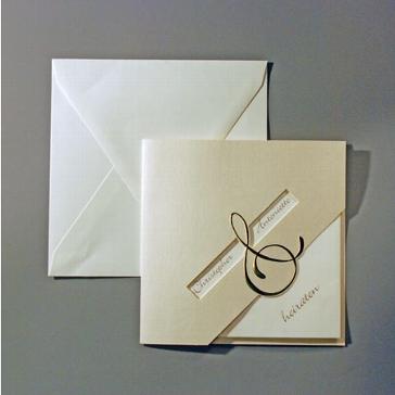 """Einladungskarte """"Estelle"""""""