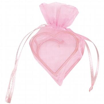 GeschenksächckenHerz in Rosa für Gastgeschenke