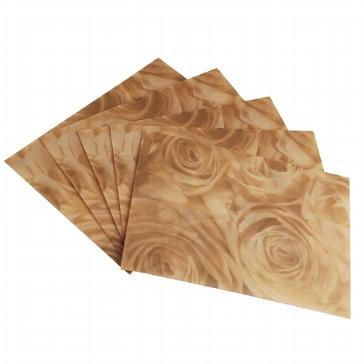 Briefumschläge transparent Rosen antik
