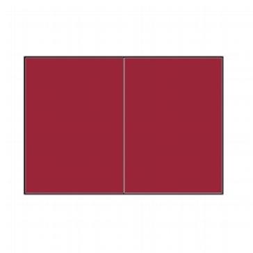 Doppelkarten, purpur