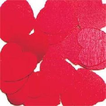 """Flitter-Konfetti """"Herz"""" - große rote Herzen zur Hochzeitsdekoration"""