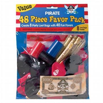 Geschenkset Pirat für Kinder zur Hochzeit
