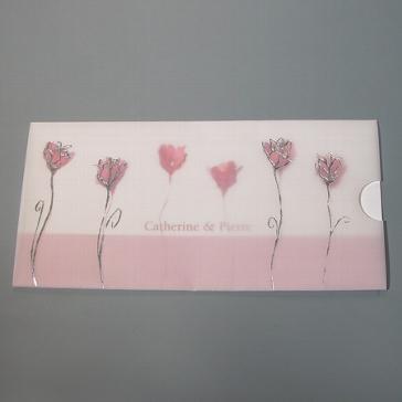 Einladungskarte Deborah