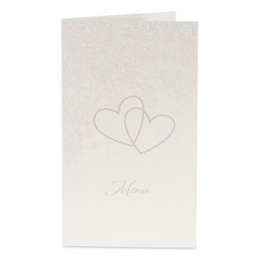 Menuekarte Sonja zur Hochzeit