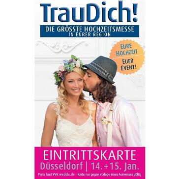 Wochenendticket für die TrauDich in Duesseldorf 2017