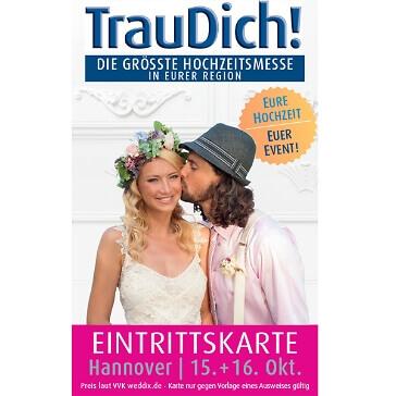 Tageskarte TrauDich Hannover