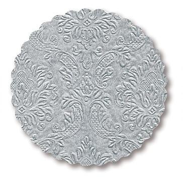 Untersetzter in Silber