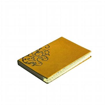 """Adressbuch """"Turin"""", klein, gelb"""