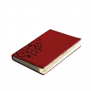 """Adressbuch """"Turin"""", klein, rot"""