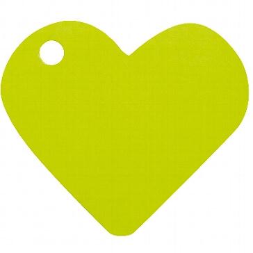 Geschenkanhänger Herz in Grün