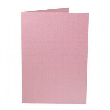 Artoz Doppelkarten Perle - A5 dunkelrosa