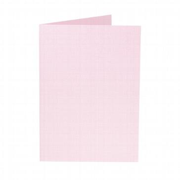 Artoz Doppelkarte Perle B6, rosé