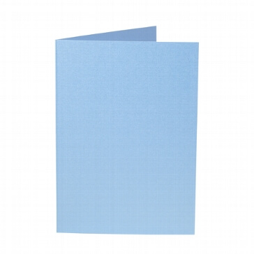 Artoz Doppelkarte, wasserblau
