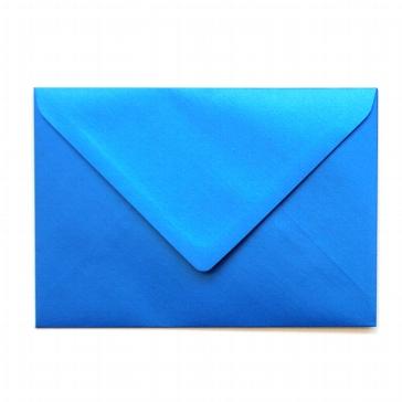 """Briefumschlag B6 """"Silky"""" von Artoz in Blau"""