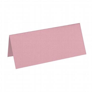 Artoz Tischkarte Perle dunkelrosa