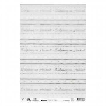 Transparentpapier Einladung