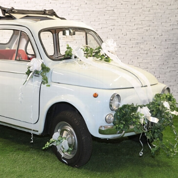 Autodeko Kit zur Hochzeit