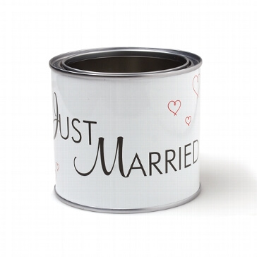 "Autoschmuck Dose ""Just Married"""