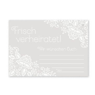 Ballonkarten Frisch verheiratet!