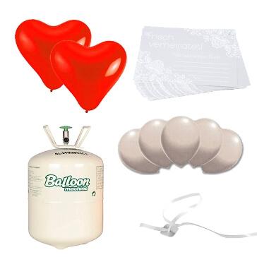 Ballonstart-Set Verheiratet - Deluxe