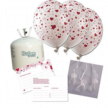 Ballongasset mit Ballonflugkarten