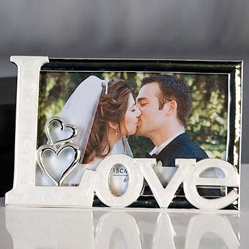 Bilderrahmen Hochzeit True Love