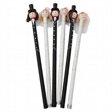 Gastgeschenk Bleistifte Set Brautpaar