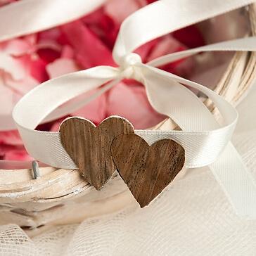 Blumenkinder Armband Doppeltes Herz
