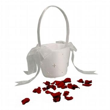 """Blumenkörbchen """"Perlenblüten"""""""