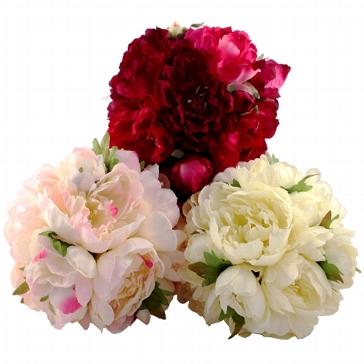 Blütenball, rosé