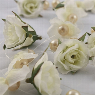 "Blütenkette ""Perle"""