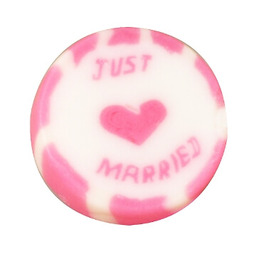 Bonbons Just Married in Pink