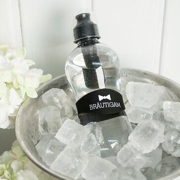 Bobble Trinkflasche für den Bräutigam