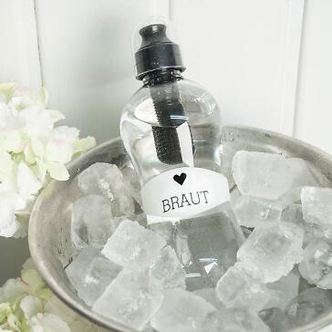 Bobble Trinkflasche für die Braut