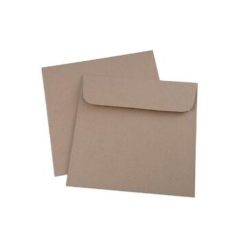Kuvert Quadratisch für Hochzeitseinladungen