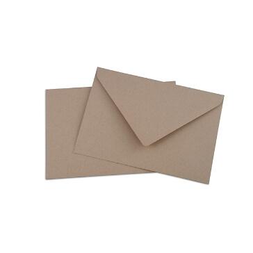 Briefumschlag B6 für Einladungen zur Hochzeit
